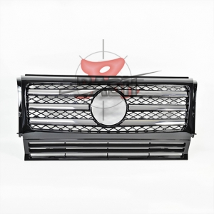 For Mercedes W463 (G55) SHINY BLACK GRILLE 1990-G CLASS