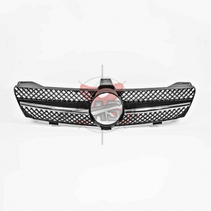 For Mercedes W219(SL09Y TYPE) SHINY BLACK GRILLE  04-08 CLS CLASS