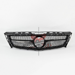 For Mercedes W218AMG(CLS/15Y  LOOK)SHINY BLACK GRILLE 09-14 CLS CLASS