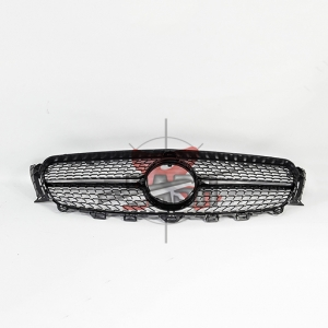 For Mercedes W213(E43 LOOK) SHINY BLACK GRILLE  16- E CLASS