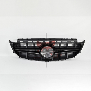 For Mercedes W213(E63  LOOK) SHINY BLACK GRILLE  16- E CLASS