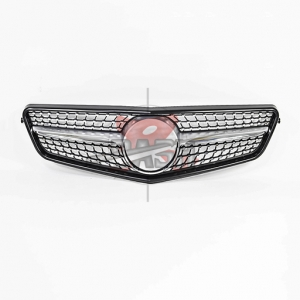 For Mercedes W204(ALL STAR)MATTE GRILLE 07-14 C CLASS