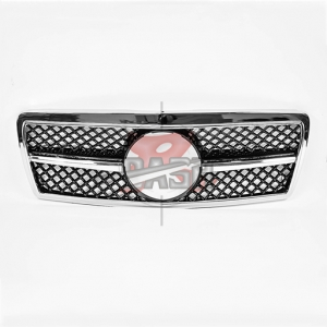 For Mercedes W202/NEW TYPESHINY BLACK GRILLE  92-99 C CLASS
